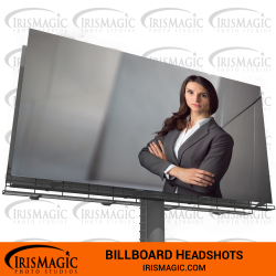 Business Headshot near me | Billboard Headshot | IrisMagic Photo Studios