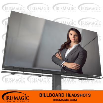 Business Headshot near me | Billboard Headshot | IrisMagic Photo Studios