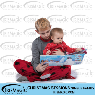 Christmas pictures | Sessions in Studio for one family | IrisMagic Photo Studios