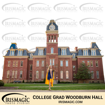 Graduation photos | Woodburn Hall | IrisMagic Photo Studios