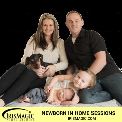 Newborn Photos | In home| IrisMagic Photo Studios
