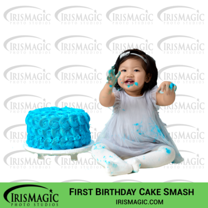 First Birthday Photos   In Studio   IrisMagic Photo Studios