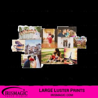 Large Luster prints