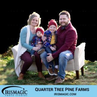 Christmas Trees | Quarter Tree Pine Farm sessions | IrisMagic Photo Studios