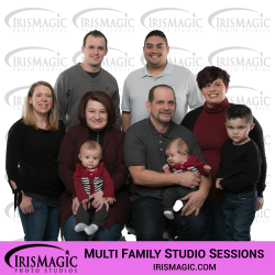 Photography Studio   Family Sessions in Studio for multi family   IrisMagic Photo Studios
