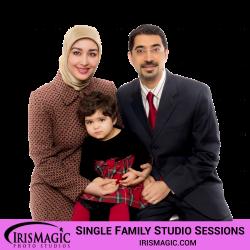 Photography Studio   Family Sessions in Studio for one family   IrisMagic Photo Studios