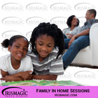 Family Photographer near me | Family sessions in home | IrisMagic Photo Studios