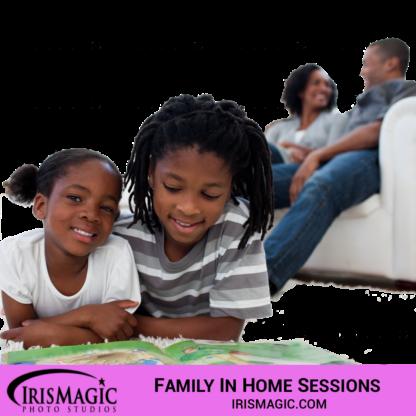 Family Photographer near me | Family sessions in home | IrisMagic Photo Studios