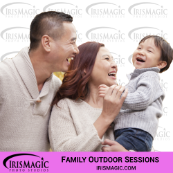 Family Photographer near me | Family outdoor sessions for one family | IrisMagic Photo Studios